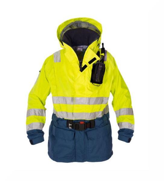 Ki-Jacket 165 Shell- CE met Geïntegreerd reddingsvest