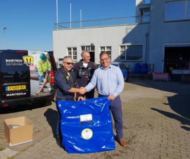 Uitlevering Octopus aan DAB Vloot Vlaanderen